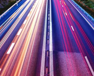 Road with radiant colours - Finance outsourcing - Sandesk