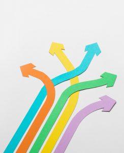 Colorful Arrows - Sandesk